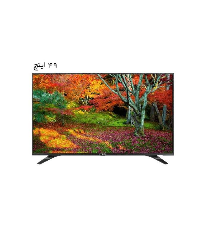 تلویزیون ال ای دی ایکس ویژن مدل 49XT530 سایز 49 اینچ