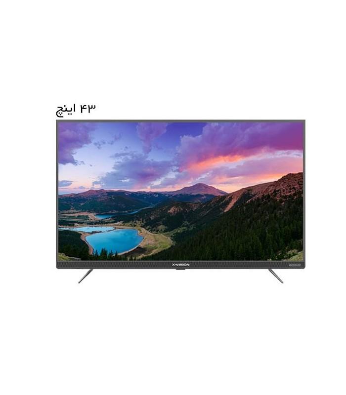 تلویزیون ال ای دی ایکس ویژن مدل 43XT725 سایز 43 اینچ