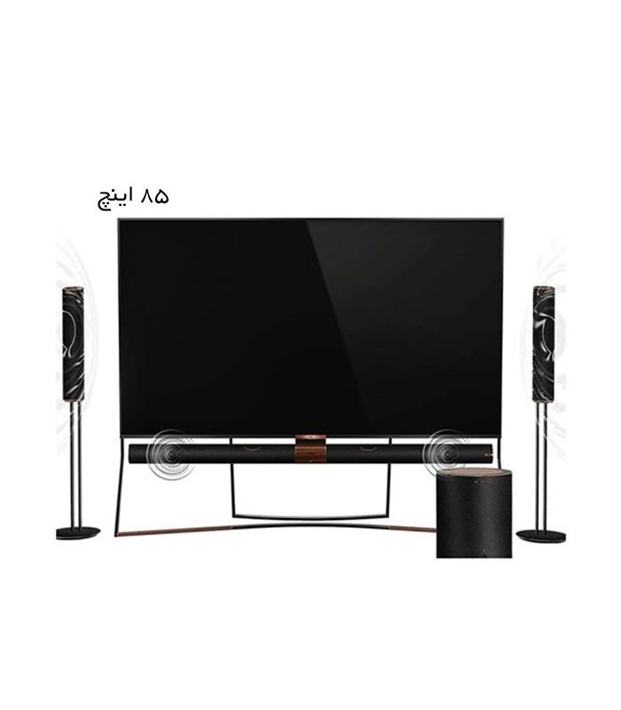 تلویزیون ال ای دی تی سی ال مدل 85X6US سایز 85 اینچ
