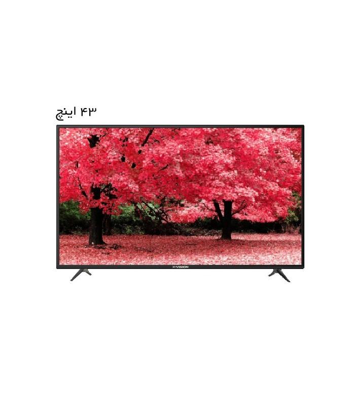 تلویزیون ال ای دی ایکس ویژن مدل XK560 سایز 43 اینچ