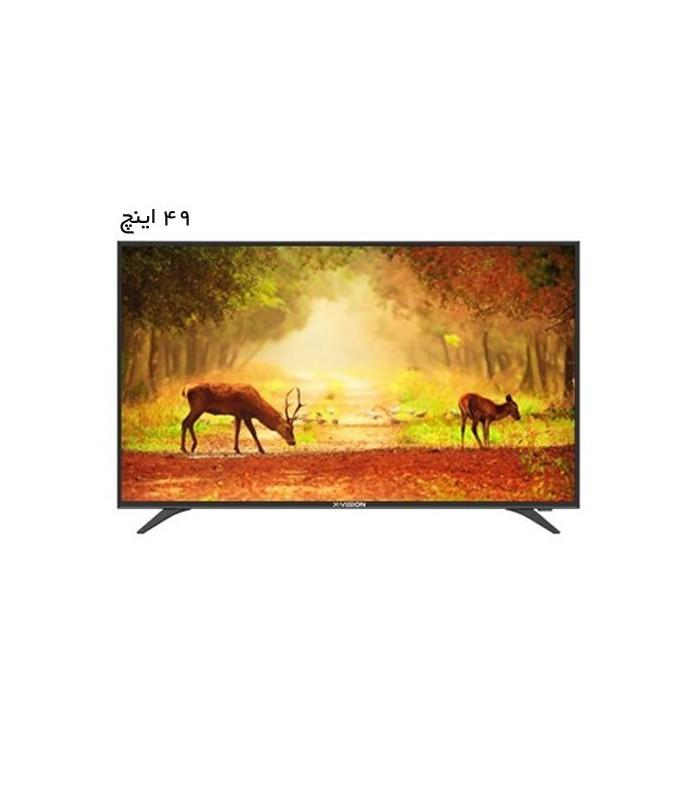 تلویزیون ال ای دی ایکس ویژن مدل XT520 سایز 49 اینچ