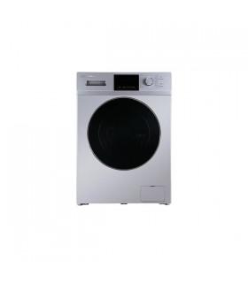 ماشین لباسشویی ایکس ویژن مدل TM84-BSBL ظرفیت 8 کیلوگرم (نقرهای)