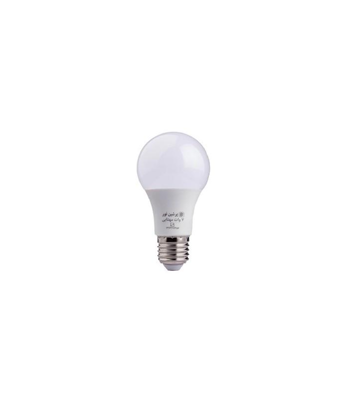 لامپ ال ای دی حبابی 7 وات پرشین نور
