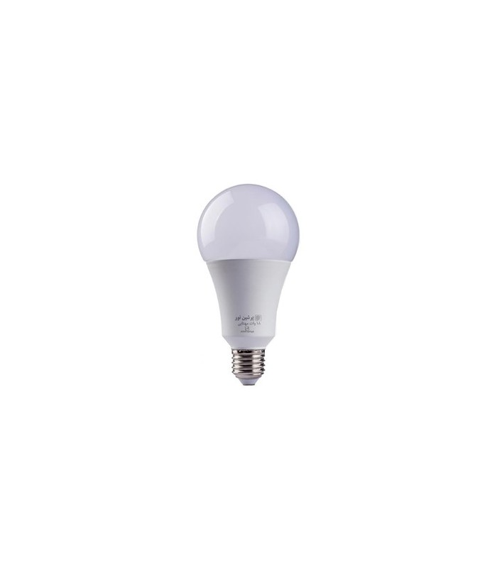 لامپ ال ای دی حبابی 18 وات پرشین نور