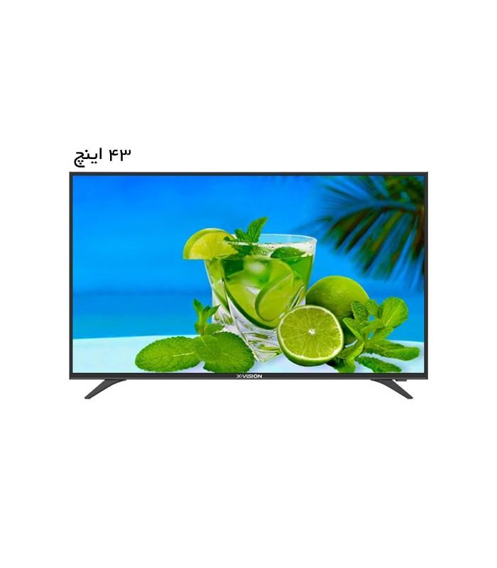 تلویزیون ال ای دی ایکس ویژن مدل 43XT520 سایز 43 اینچ