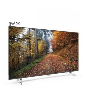 تلویزیون ال ای دی هوشمند ایکس ویژن مدل 55XLU825 سایز 55 اینچ