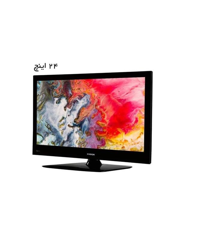 مانیتور ,تلویزیون ایکس ویژن مدل 24XS450 سایز 24 اینچ