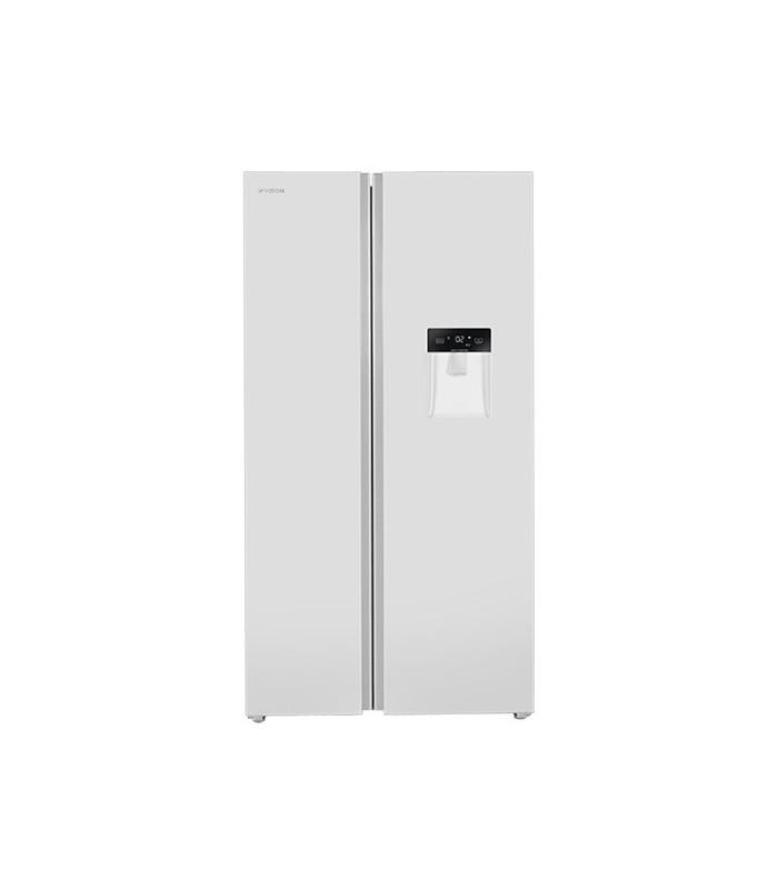 یخچال فریزر ساید بای ساید ایکس ویژن مدل TS665-AWD (سفید)