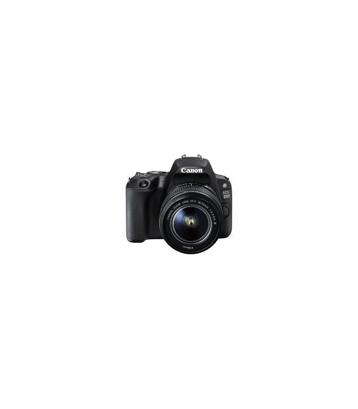 دوربین دیجیتال کانن مدل EOS 200D با لنز 55-18 میلی متر IS STM