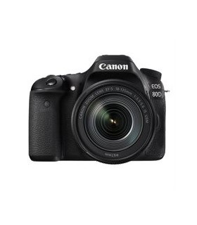 دوربین دیجیتال کانن مدل EOS 80D با لنز 135-18 میلی متر IS USM