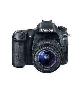 دوربین دیجیتال کانن مدل EOS 80D با لنز 55-18 میلی متر IS STM