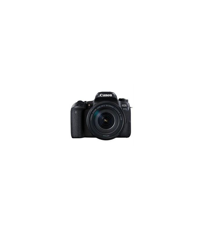 دوربین دیجیتال کانن مدل EOS 77D با لنز 135-18 میلی متر IS USM